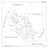 Carta della provincia di Verona