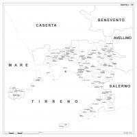 Carta della provincia di Napoli