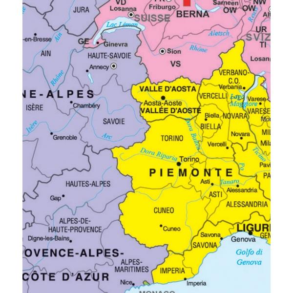 Cartina Politica Italia Alta Definizione.Europa Politica Cm 140 X 100