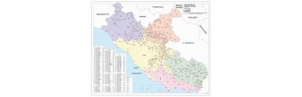 Carte geografiche delle Regioni con CAP