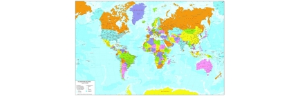 Carte geografiche del Mondo