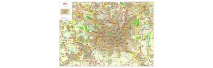 Carte geografiche delle città con divisioni amministrative