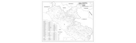 Carte geografiche Regioni amministrative