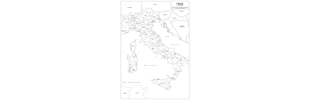 Maps of Italy administrative