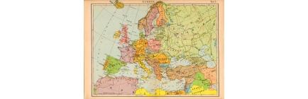 Carte geografiche vintage