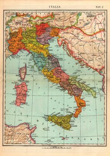 Italia politica vintage VISCEGLIA