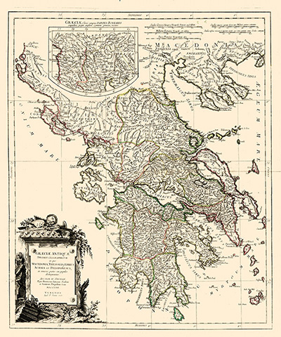 Carta antica della Grecia