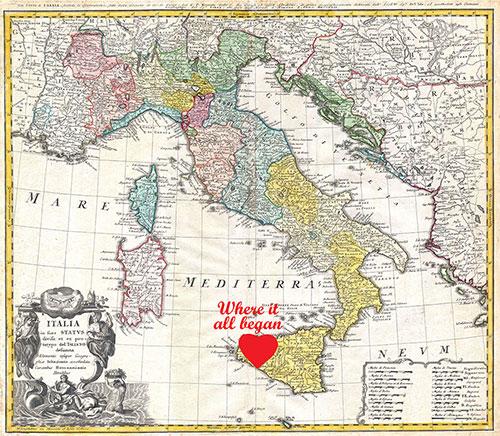 carta italia antica