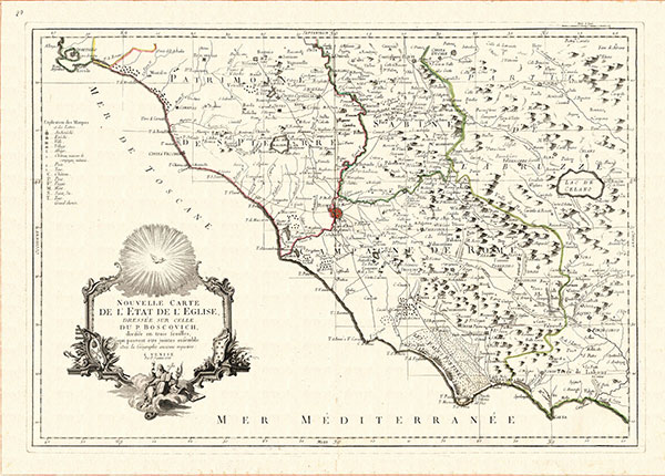 Lazio carta antica