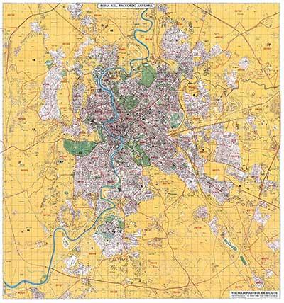 Planimetria di Roma