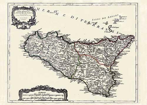 sicilia antica cartografica visceglia