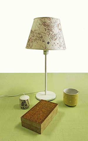lampada cartografica visceglia