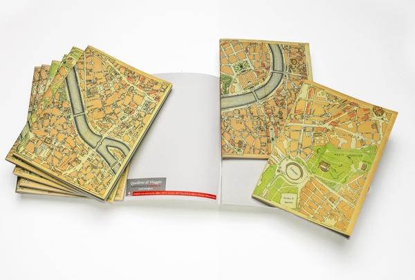 Quaderni di viaggio - gadget aziendale
