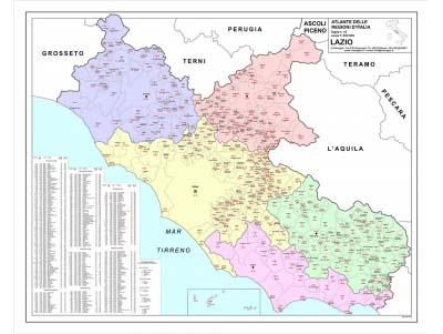 Le carte geografiche con cap di Visceglia, il più grande e dettagliato archivio italiano anche su CD