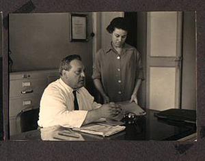 Vincenzo e Rosangela Visceglia negli anni '50