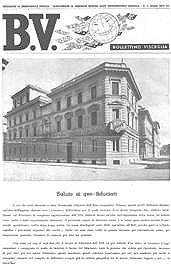 Il Bollettino Visceglia, periodico quindicinale sulle attività dell'Istituto (1943).
