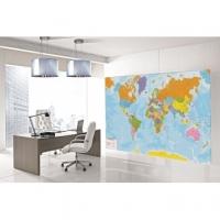 Allestire sale per eventi con le carte geografiche