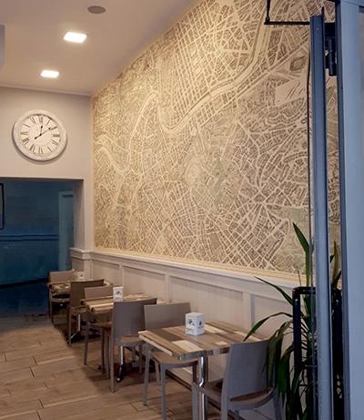 Carte geografiche da parete per arredamento