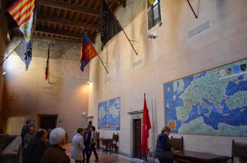 Continua il viaggio nei luoghi delle carte geografiche: la Casa dei Cavalieri di Rodi al Foro di Augusto