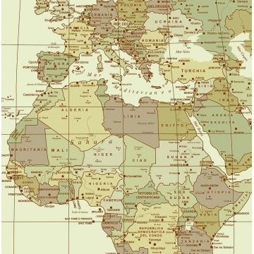 Curiosità cartografiche - Il planisfero tolemaico