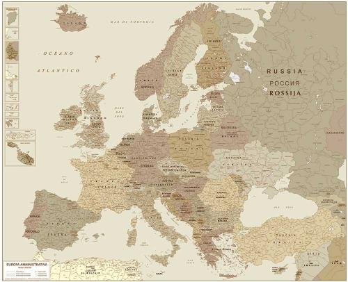 Definizione di carta geografica