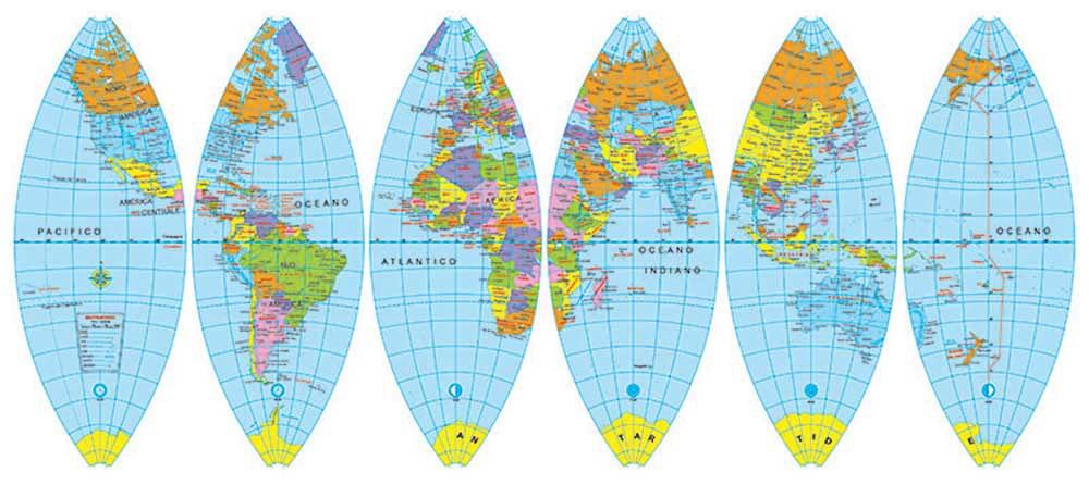 Cartina Fusi Orari Mondo.I Fusi Orari Notizie E Curiosita