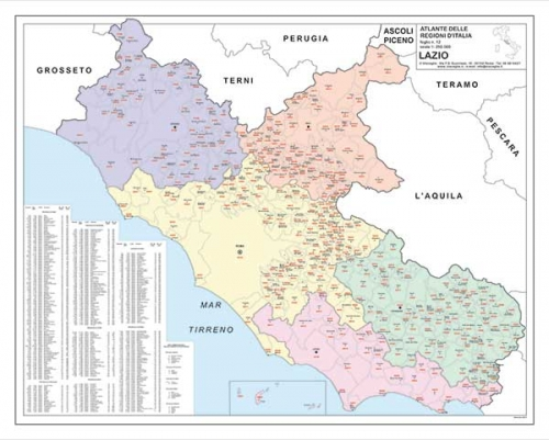 I più ampi e completi Data base statistici geografici d'Italia sia su supporti cartacei che digitalizzati