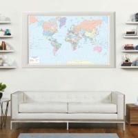I planisferi di Visceglia, le carte geografiche del mondo per arredamento e lavoro