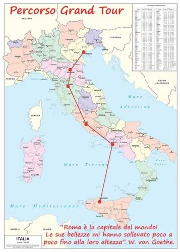 Il Grand Tour un viaggio per scoprire il nostro bel paese