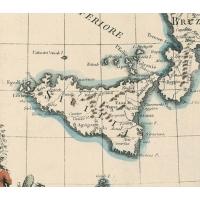 La sala delle carte geografiche del museo Uffizi di Firenze