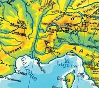 La suddivisione delle carte geografiche
