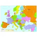 Le carte geografiche d'Europa sia politiche che antichizzate