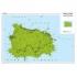 Le carte geografiche stradali e turistiche di Visceglia per le strutture ricettive, anche personalizzate sulle richieste del cliente