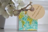 Lo stile delle carte geografiche per il tuo matrimonio