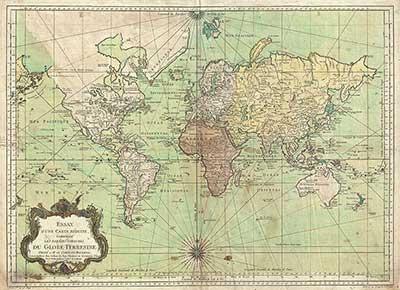Mappe geografiche antiche