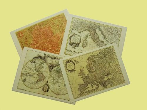 Mappe geografiche personalizzate da regalare o come gadget aziendale