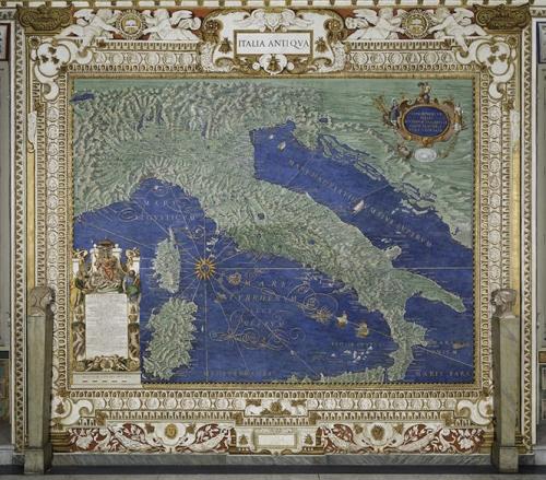 Un consiglio per Pasqua: la Galleria delle carte geografiche ai Musei vaticani