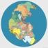 Oggi è Martedì Grasso, l'ultimo giorno di Carnevale, ecco una mappa che ricorda l'abito di Arlecchino.
