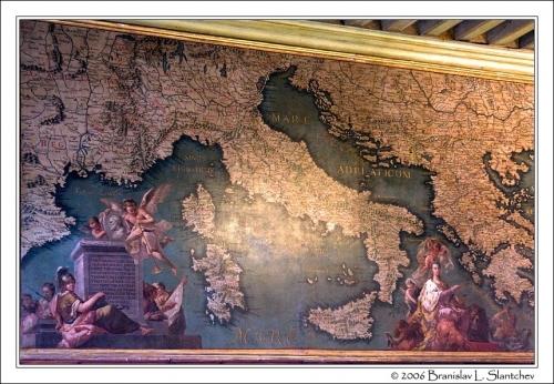 Sala dello Scudo a Palazzo Ducale a Venezia