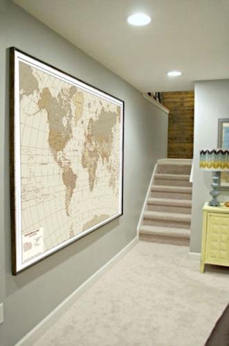 Per i tuoi viaggi regalati un Planisfero personalizzato dove registrare i tuoi viaggi