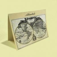 Per il tuo matrimonio scegli il tema originale delle carte geografiche
