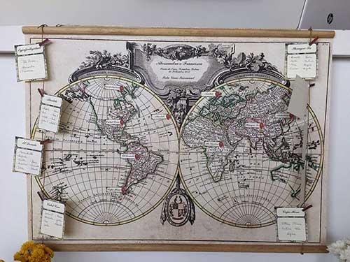 Storia di un Matrimonio: Viaggi, Mappe e...