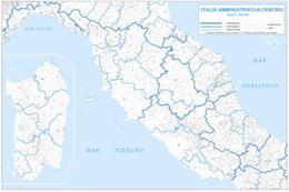 Cartina Muta Centro Italia.Carte Geografiche Italia