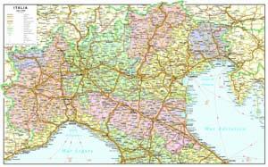 Cartina Geografica Italia Centro.Carte Geografiche Italia