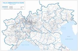 Cartina Politica Italia Del Nord.Carte Geografiche Italia