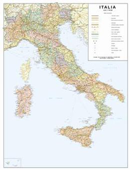 Cartina Dellitalia In Scala.Carte Geografiche Italia