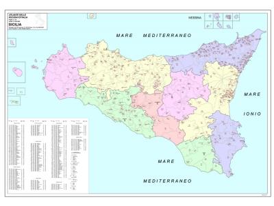 Cartografica visceglia regione sicilia a colori con cap thecheapjerseys Images